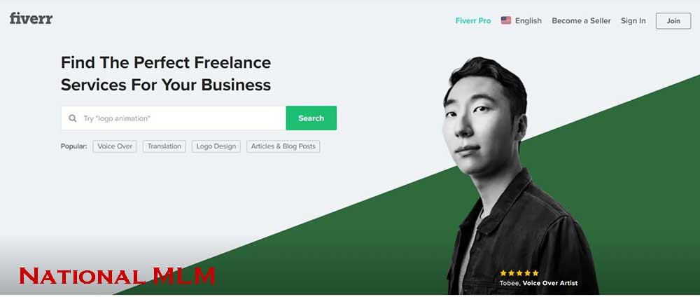 Fiverr- freelance website